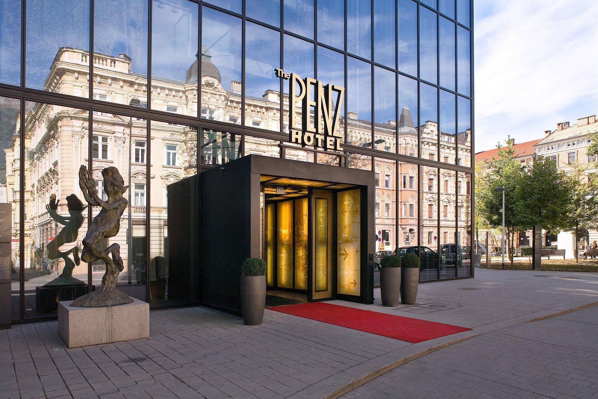 The penz innsbruck the penz designhotel in innsbruck for Innsbruck design hotel